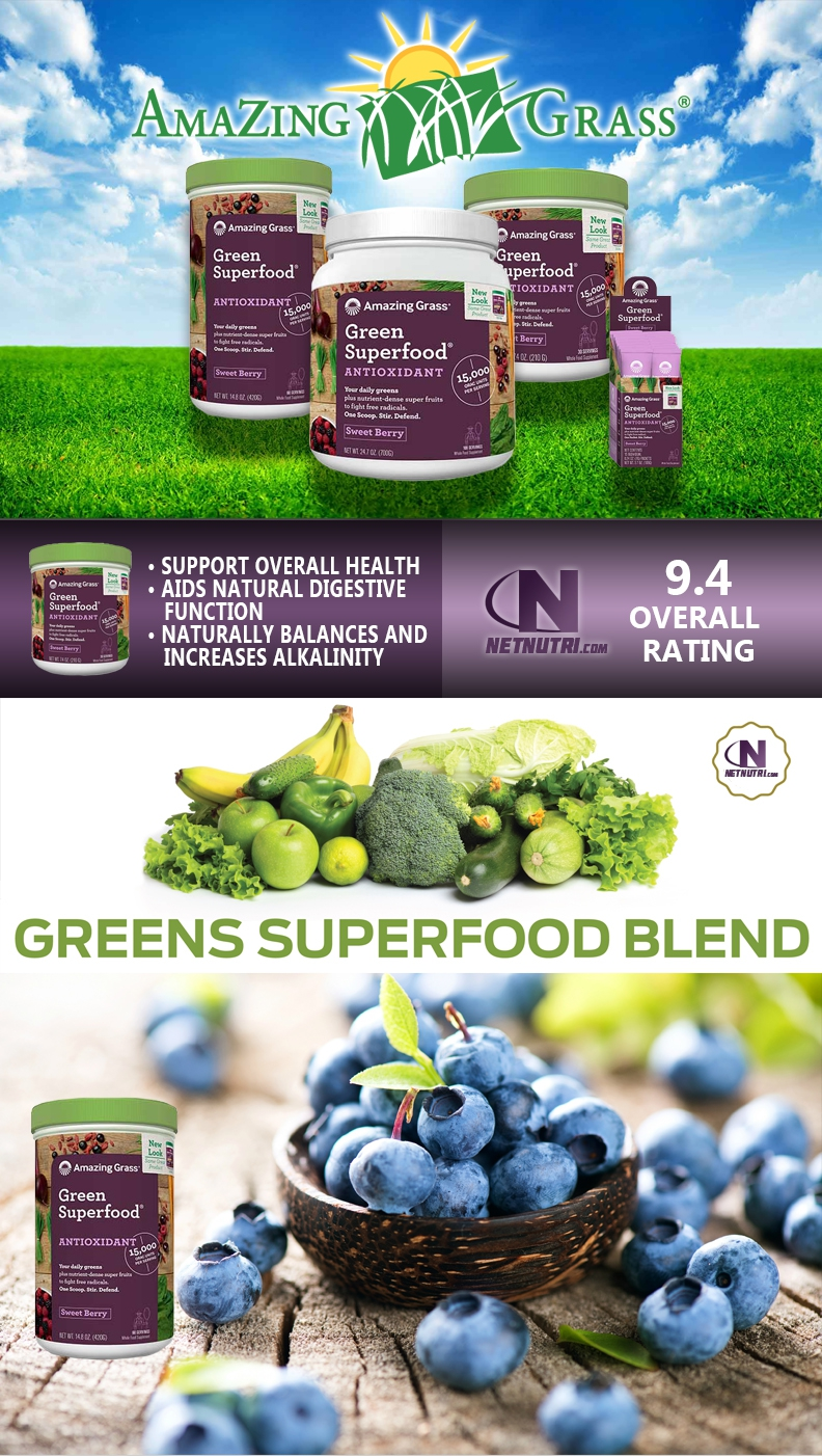 Purchase Green SuperFood Antixodiant at Netnutri.com