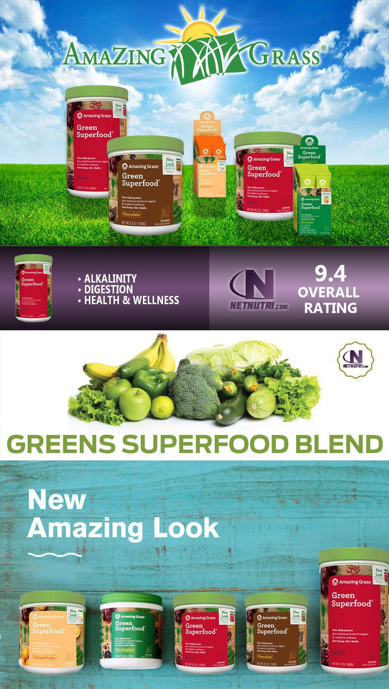 Shop for Green SuperFood at NetNutri.com