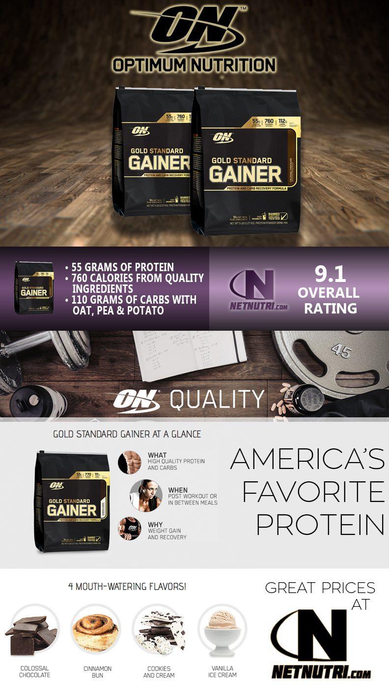 Optimum Nutrition Gold Standard Gainer Sale at Netnutri.com
