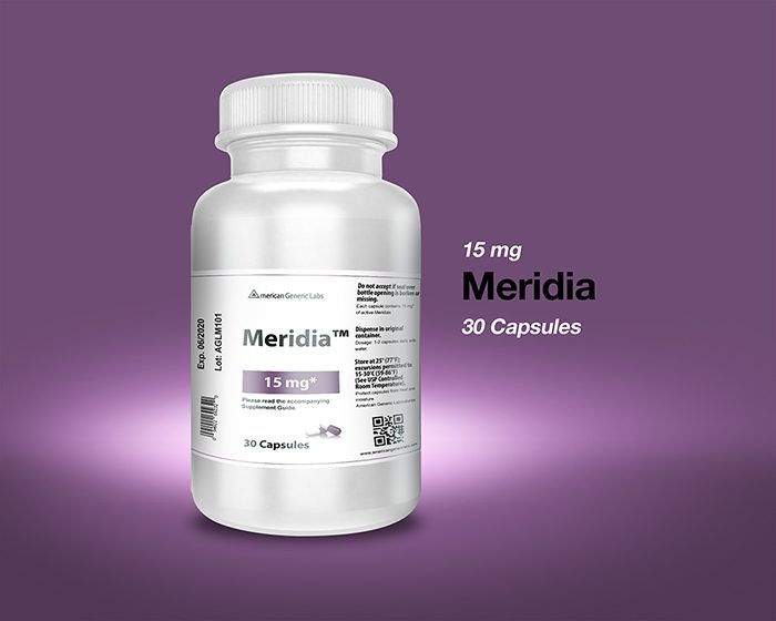 Meridia 15 mg Capsules
