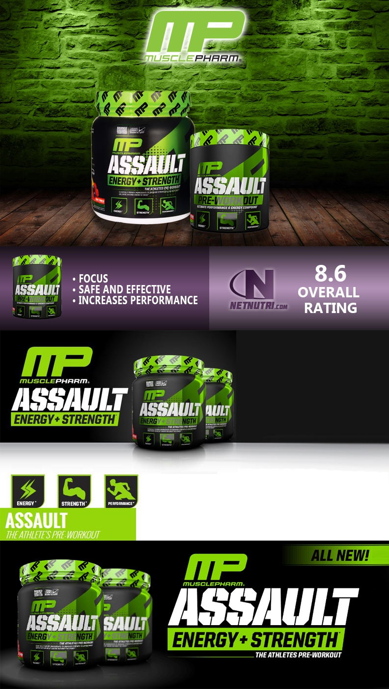 MusclePharm Assault sale at Netnutri.com