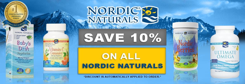 Nordic Naturals 10% Off