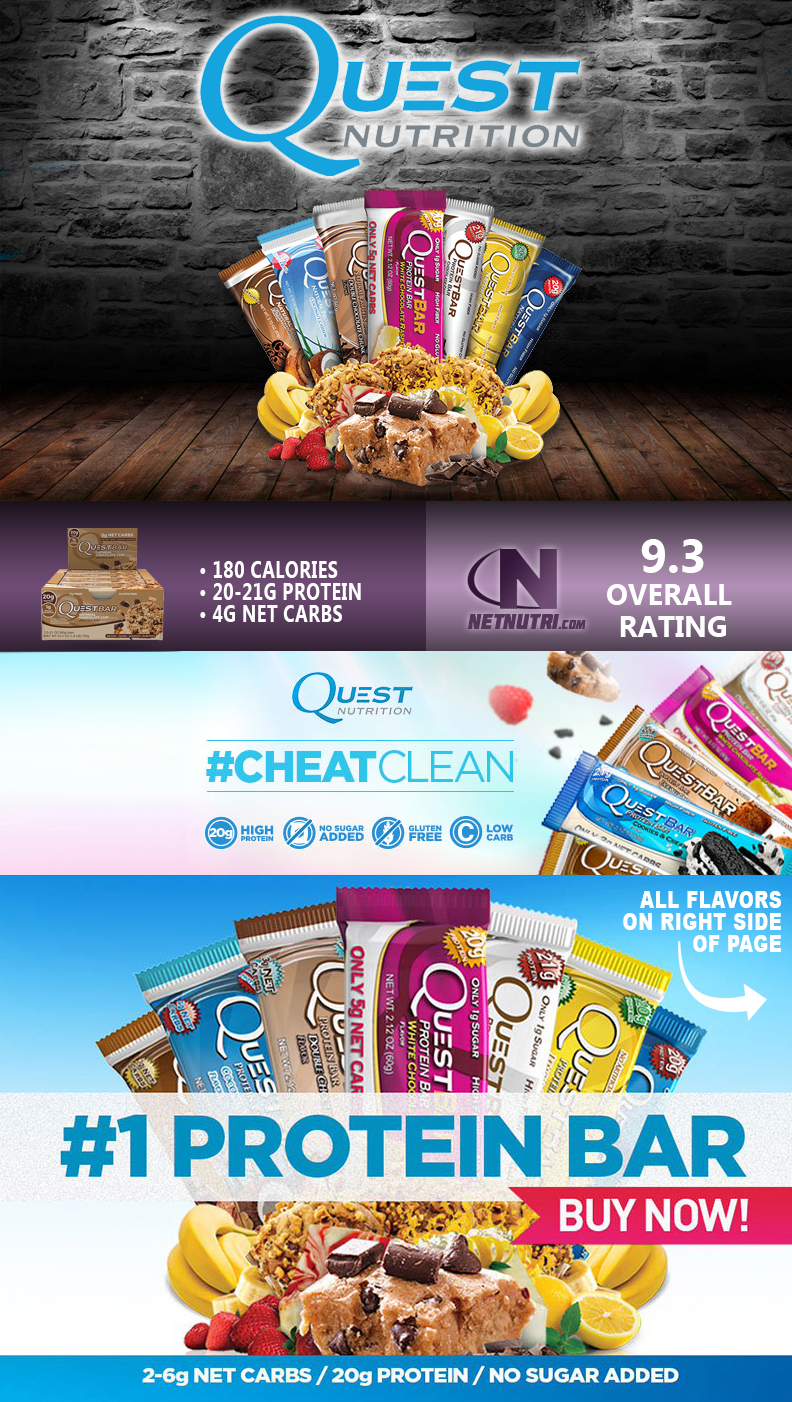 Quest Bars Sale at Netnutri.com