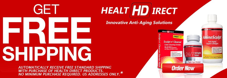 Free Shipping on Health Direct at Netnutri.com