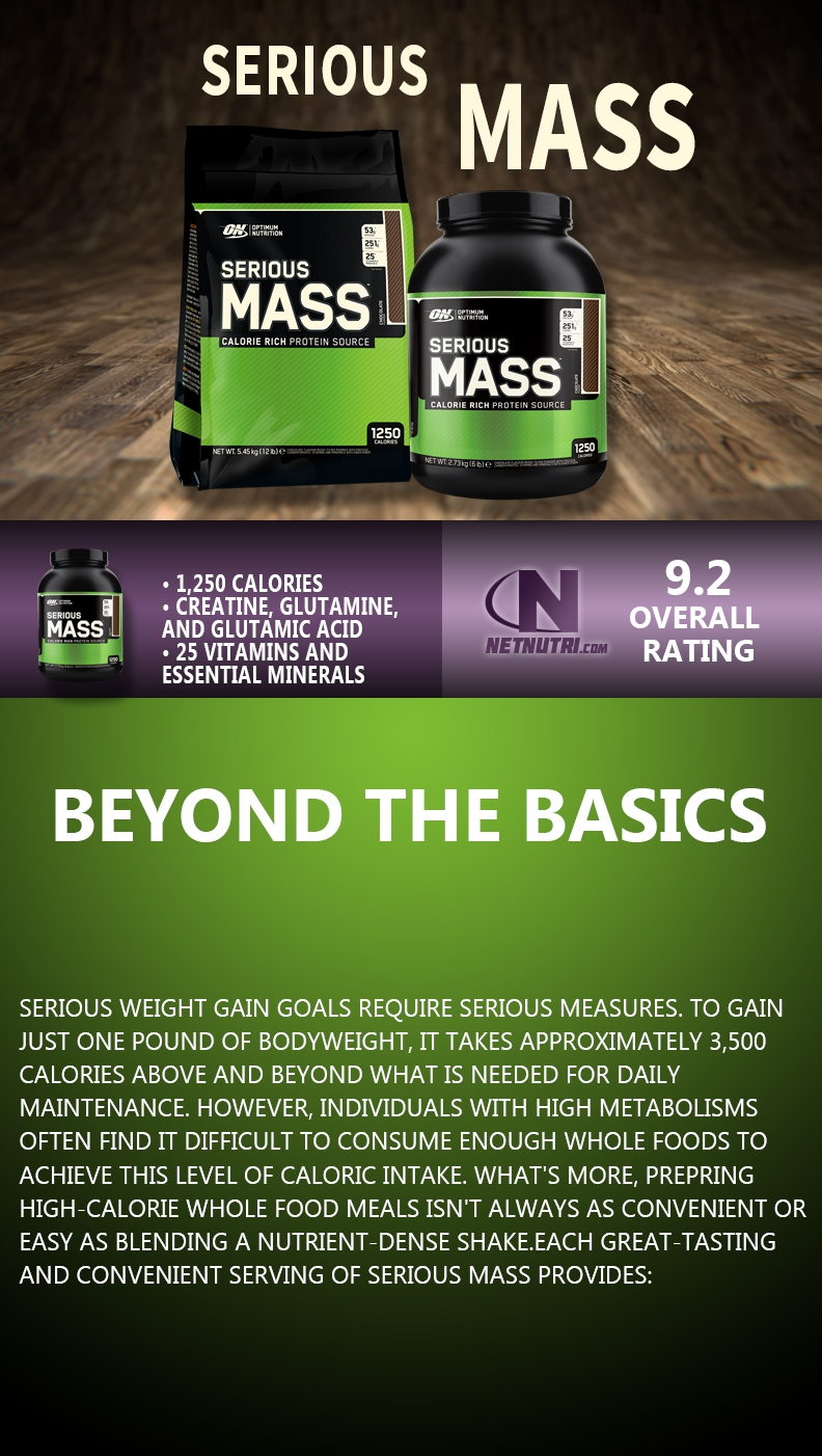 Serious Mass | Optimum Serious Mass sale at netnutri.com