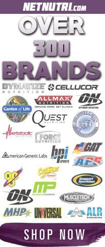 Over 300 Brands