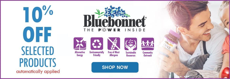 Bluebonnet 10% Off