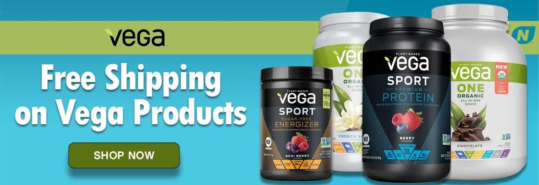 Vega Free Shipping