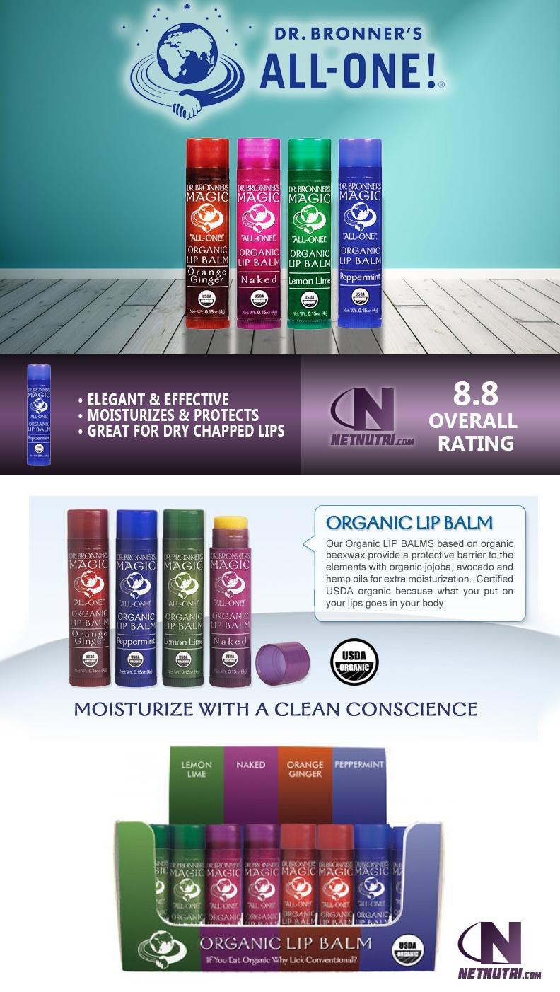 Organic Lip Balm sale at netnutri.com