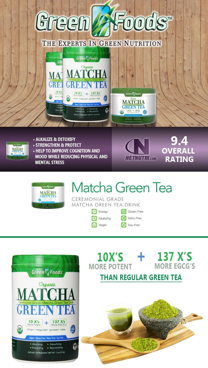 Matcha Green Tea sale at netnutri.com
