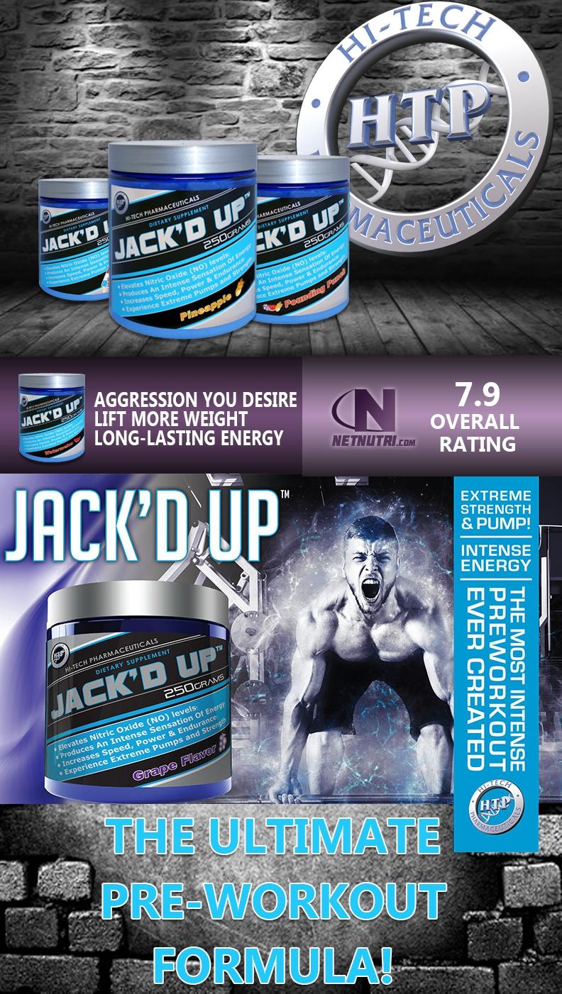 Jack d Up by Hi tech | Jacked Up Preworkout