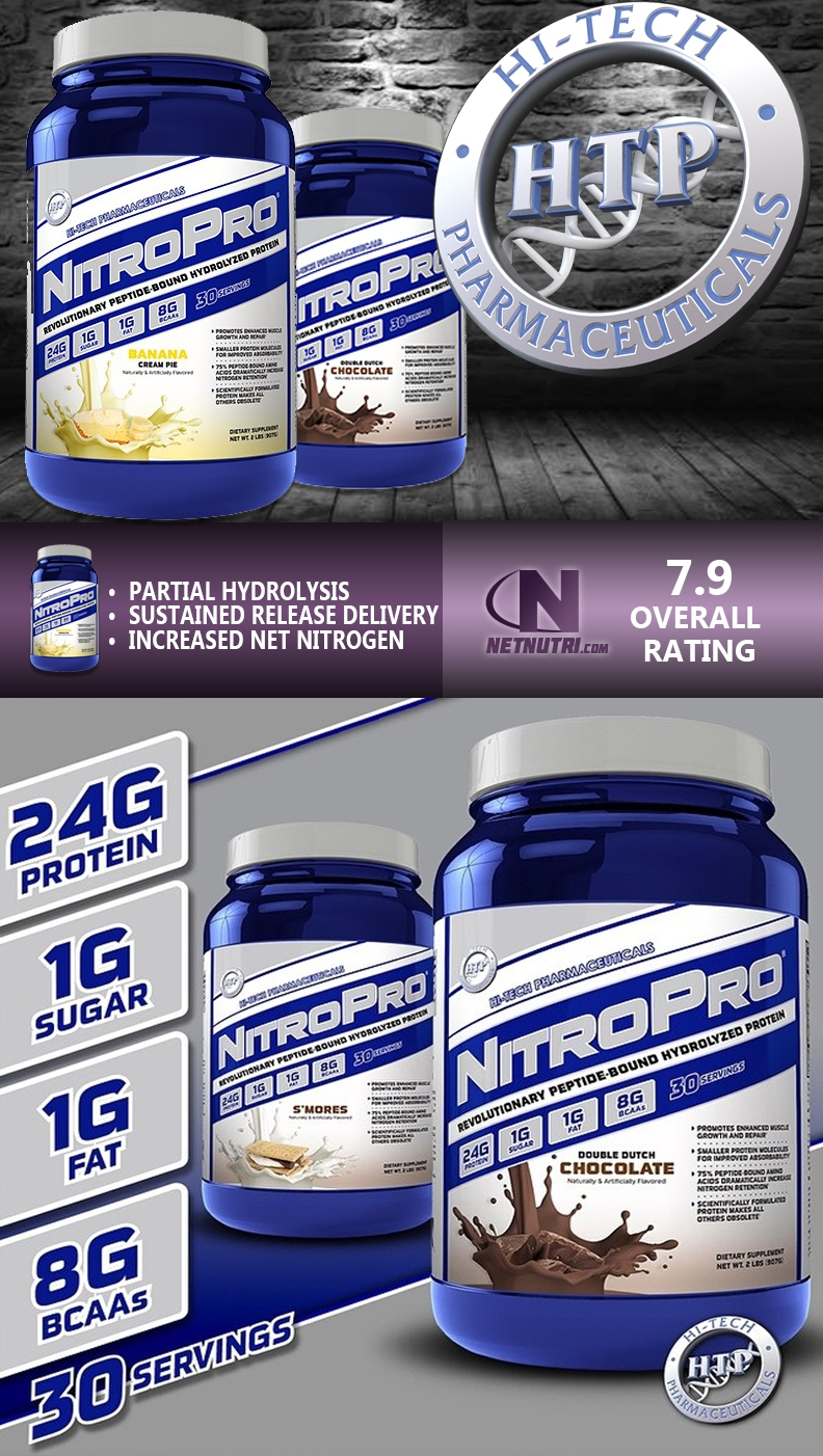 Hi Tech Nitropro Protein at netnutri