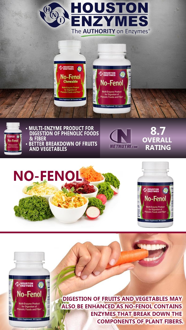 Houston Enzymes No-Fenol sale at netnutri.com