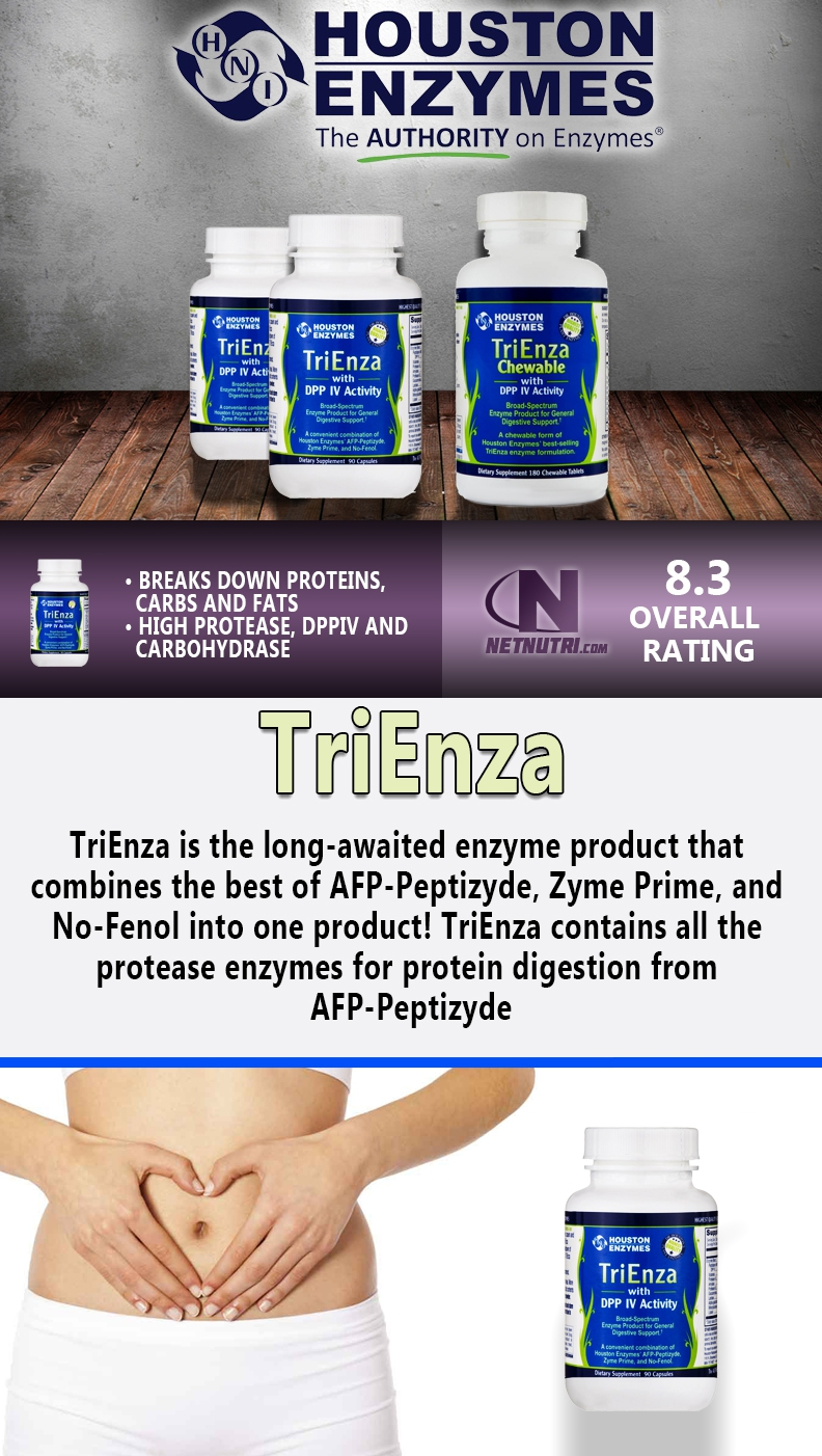Houston Enzymes TriEnza sale at netnutri.com