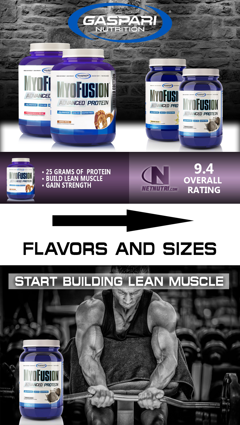 Myofusion Protein sale at netnutri.com