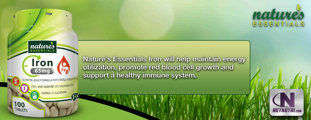 Shop for Nature's Essentials Iron