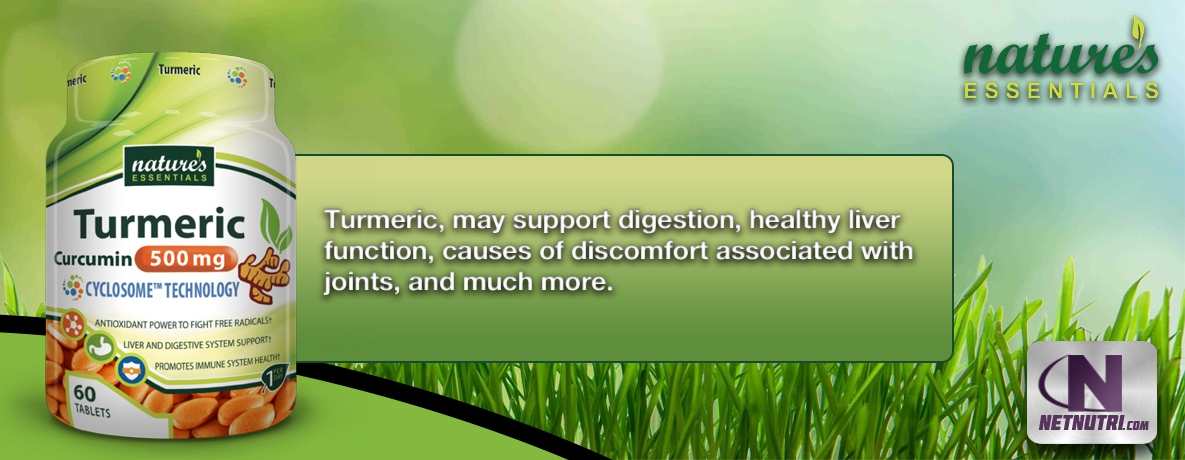 Shop for Nature's Essentials Turmeric-Curcumin