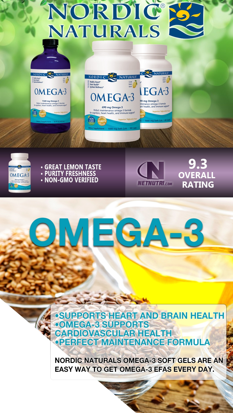 Shop Omega-3 today at netnutri.com