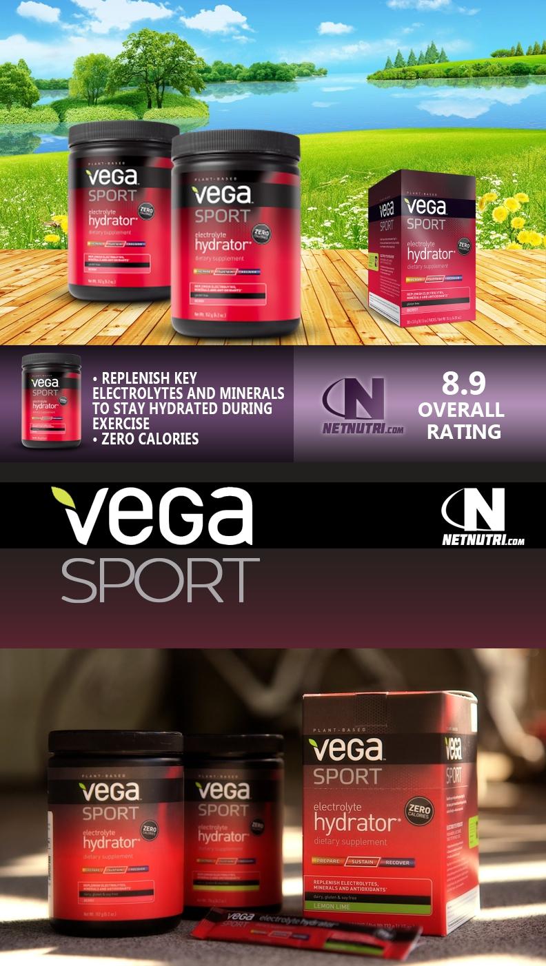 Vega Sport Electrolyte Hydrator sale at netnutri.com