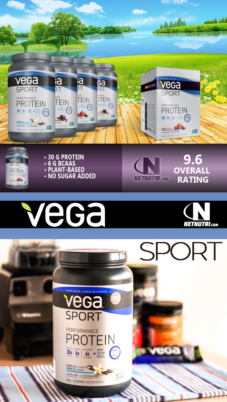 Vega Sport Performance Protein Sale at netnutri.com