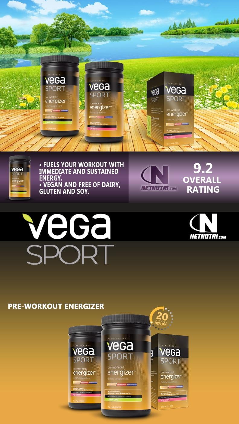 Vega Sport Pre Workout Energizer Sale at Netnutri.com