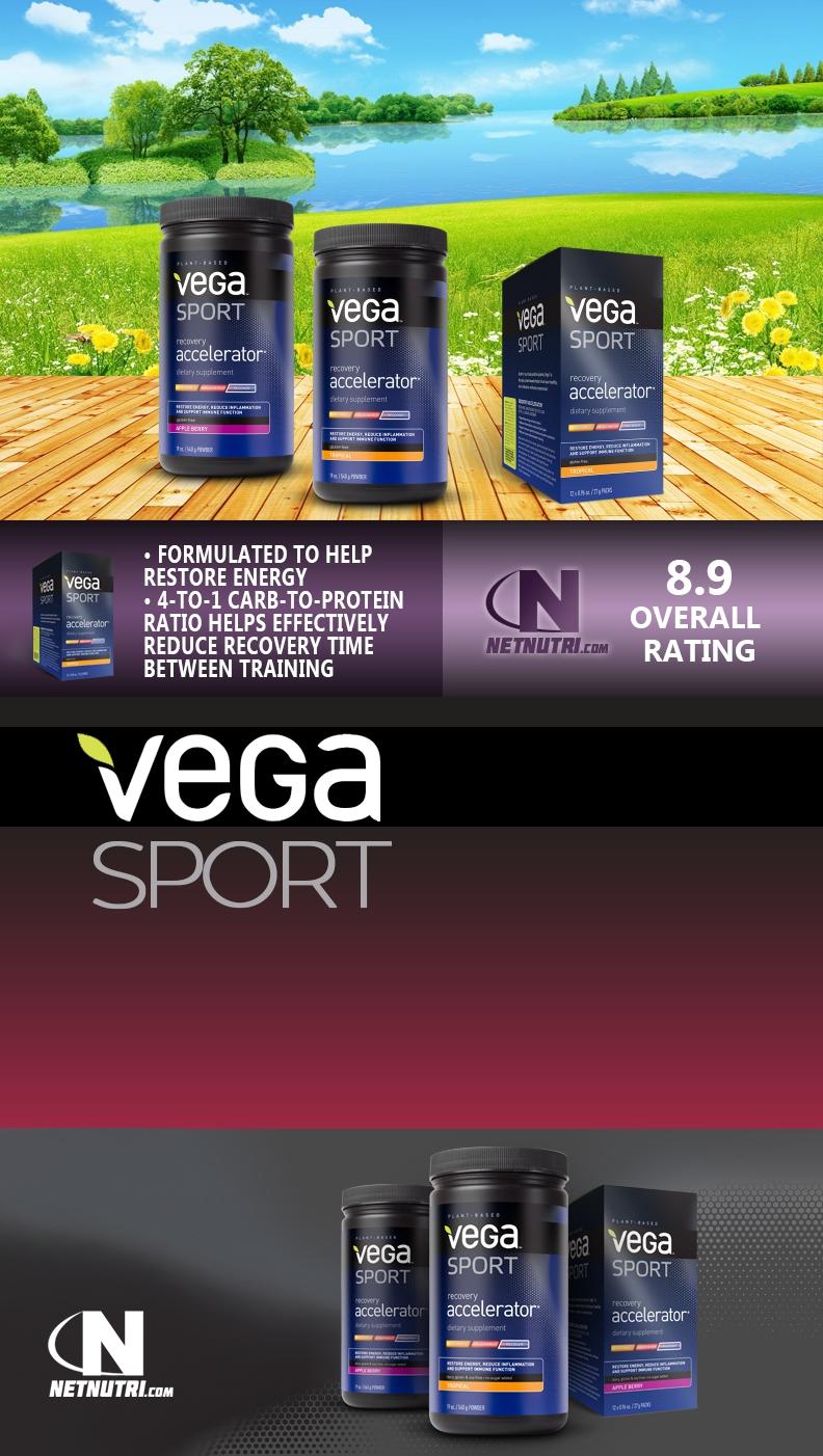 Vega Sport Recovery Accelerator Sale at Netnutri.com