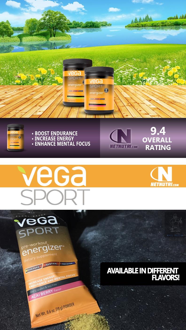 Vega Sport Sugar Free Energizer sale at netnutri.com