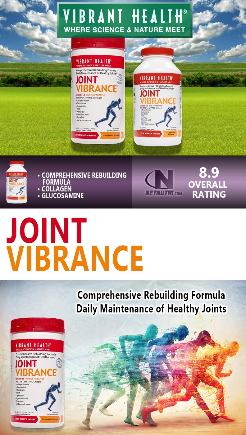 Vibrant Health Joint Vibrance Sale at Netnutri.com
