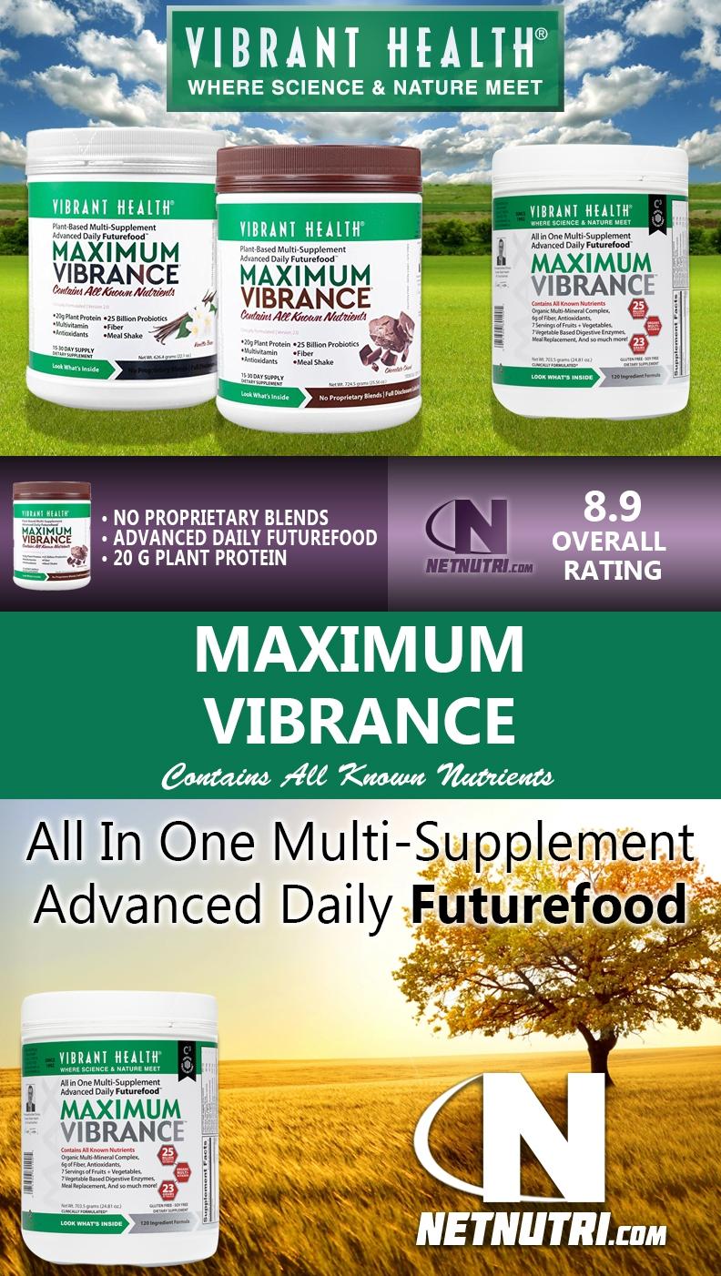Vibrant Health Maximum Vibrance Version 3.0 Sale at Netnutri.com