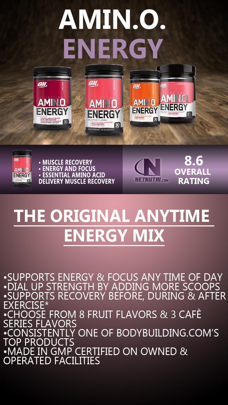 Amin.o. Energy sale at netnutri.com