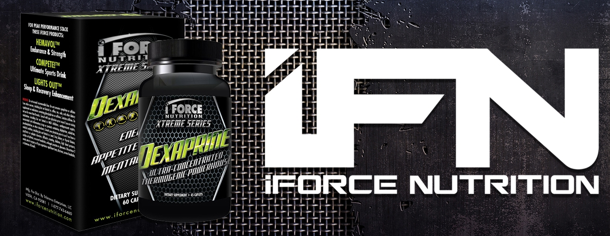 Dexaprine, 60 Capsules by iForce Nutrition