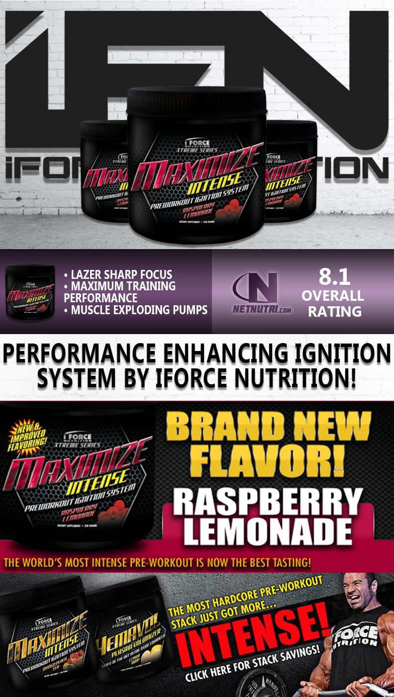 iForce Nutrition Maximize Intense