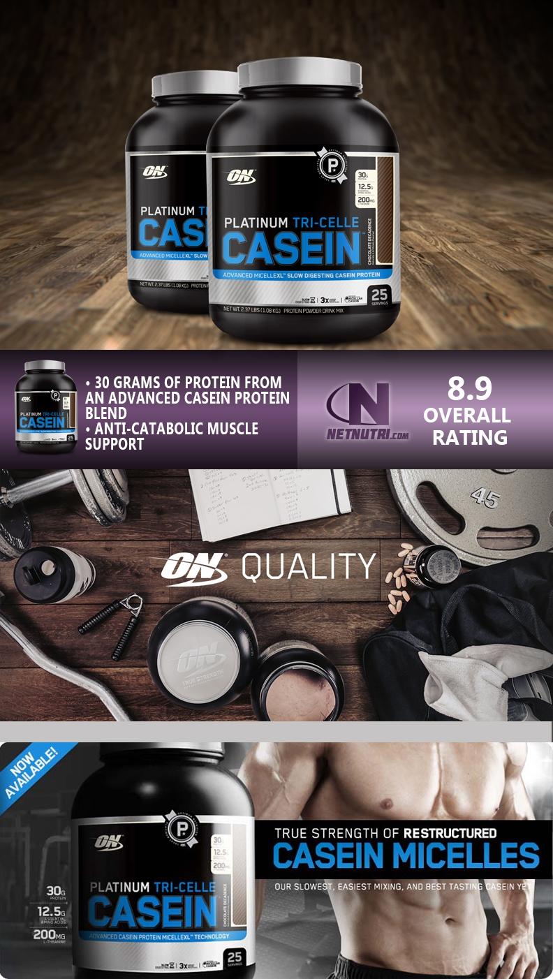 Optimum Nutrition Platinum Tri Celle Casein