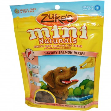 Zuke S Mini Naturals Healthy Moist Miniature Dog Treats Review