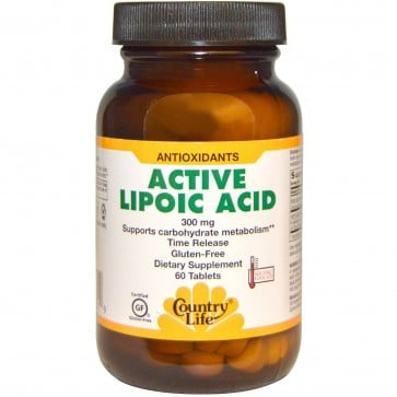 Country Life Active Lipoic Acid Time Release 300 mg 60 Tablets