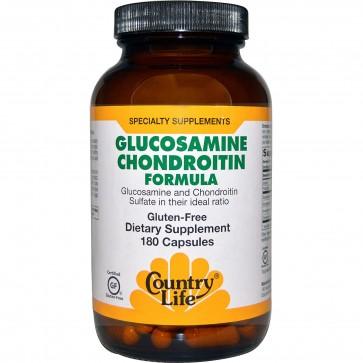Country Life Glucosamine Chondroitin Formula 180 Capsules