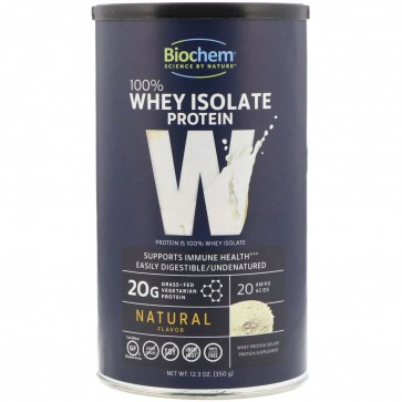 Biochem by Country Life- 100% Whey Protein Natural Flavor, 14.9 oz.
