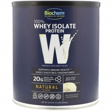 Country Life BioChem 100% Whey Protein Natural Flavor 24.6 oz (699 g)