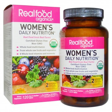 Country Life - Real Food Organics Women's Daily Nutrition - 120 Tablets