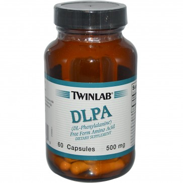 TwinLab DLPA 500 mg 60 Capsules