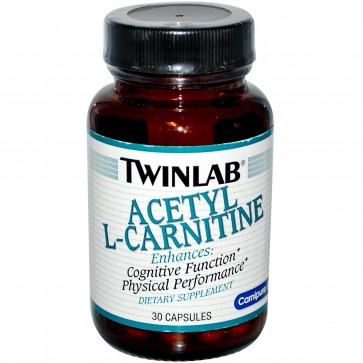 Twinlab Acetyl-L-Carnitine 500 Mg 30 Capsules