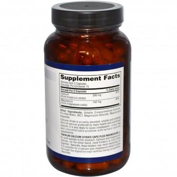 Twinlab Calcium Citrate Caps Plus Magnesium 150 Capsules