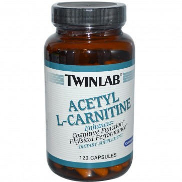 Twinlab Acetyl L-Carnitine 500 mg 120 Capsules