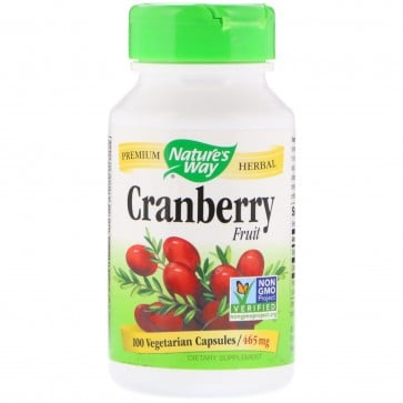 Nature's Way Cranberry Fruit 465 mg 100 Capsules