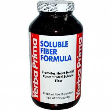 Yerba Prima Soluble Fiber Formula 12 oz Powder