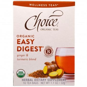 Choice Organic Teas Easy Digest 16 tea bags