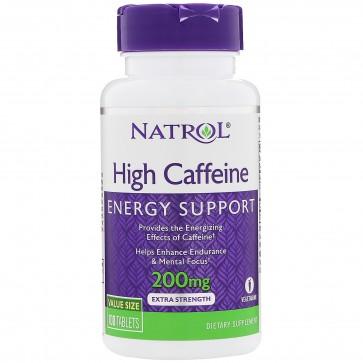 Natrol Natrol High Caffeine 200 mg 100 Tablets