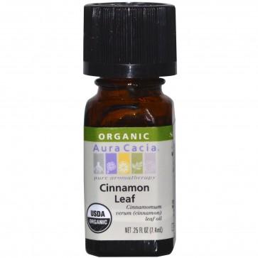 Aura Cacia Essential Oil Cinnamon Leaf 0.25 fl oz