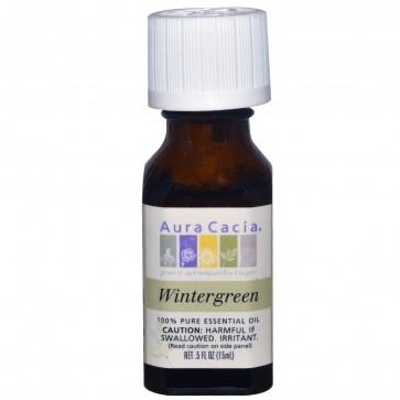 Aura Cacia Essential Oil Wintergreen 0.5 fl oz