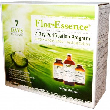 Flora Inc Flor Essence 7-Day Purification Program 3 Part Program